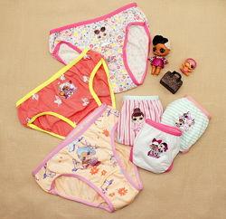 Набор 6 штук трусики детские для девочек Лол LOL, Пони, Принцессы