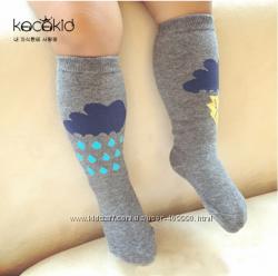 Детские высокие носочки, гольфы для малышей, младенцев