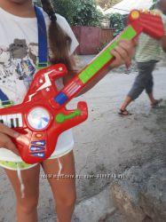 Детская гитара и синтезатор бу