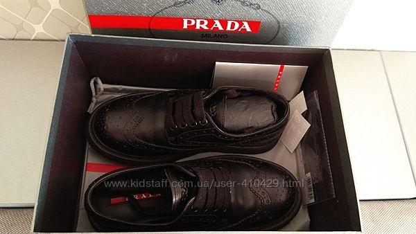 Туфли Prada оригинал 31р. на мальчика