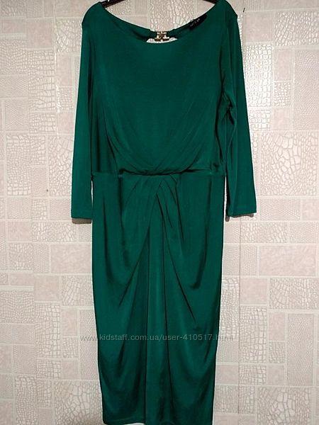 Новое платье бирюзового цвета