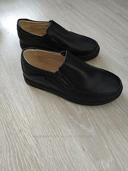 Туфли мальчику школьные