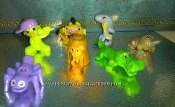 игрушки из киндер разные