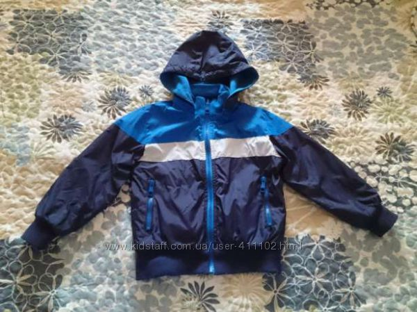 Двусторонняя демисезонная куртка р. 104