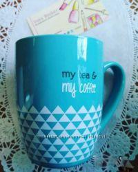 Оригинальная чашка  кружка  My Tea & My Coffe  Yves Rocher Ив Роше