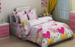 Подростковое постельное белье Хеллоу Китти Hello Kitty