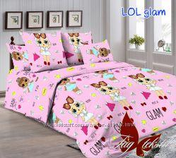 Детское постельное белье кукла LOL ЛОЛ качество супер