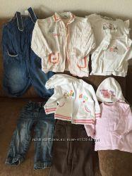 Пакет речей одягу для дівчинки 12 міс. Пакет вещей одежды для девочки