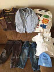 Пакет речей одягу для хлопчика 9-12 міс. Пакет одежды для мальчика