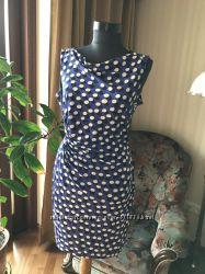 Платье в горошек Diane von Furstenberg