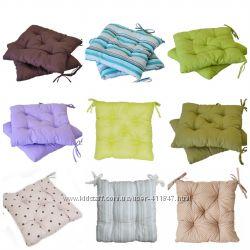 Подушки на стулья большой выбор Красивые дизайны