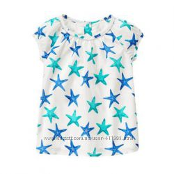 Gymboree Starfish Футболка с морскими звёздами