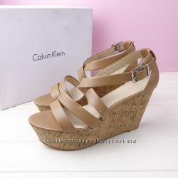 Кожаные босоножки Calvin Klein us10 размер оригинал