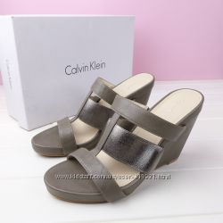 Кожаные сандалии Calvin Klein 39 оригинал