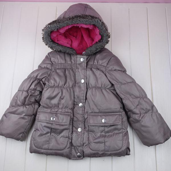 Тёплая куртка F&F 3-4 года оригинал