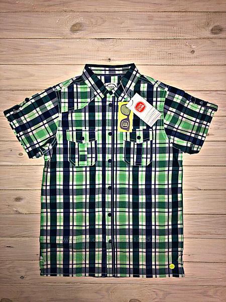 Рубашка в клетку cool club 152 см