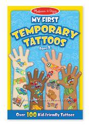 Melissa & Doug MD2946 Мои первые временные татуировки 100 шт.