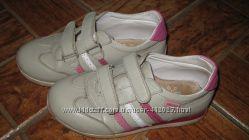 Ортопедические кожаные кроссовки Bebetom