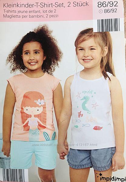 Набор из двух футболок Impidimpi на девочку 86-92р.
