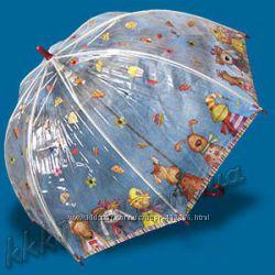 Зонты детские ZEST механика, трость