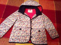 красивейшая куртка MARKS&SPENSER 4-5 лет