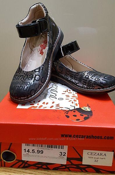 Ортопедические туфли для девочки CEZARA р. 32 21-21,5 см