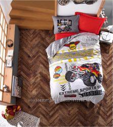 Cotton Box Детское подростковое постельное белье Monster kirmizi, Турция