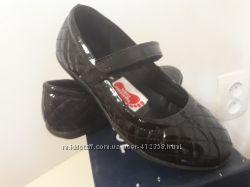 Туфли натуральная кожалак Kangol р. 32 eu 19 см по стельке