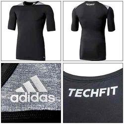 Футболка adidas techfit base tee art. M34140  D82011