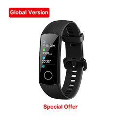 Фитнес браслет с пульсоксиметром Huawei Honor Band 5. Заказ с AliExpress.