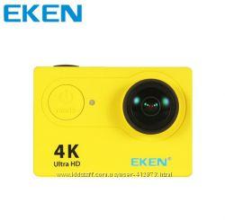 Бюджетный вариант GoPro - экшн-камера Eken H9. Аксессуары в подарок.