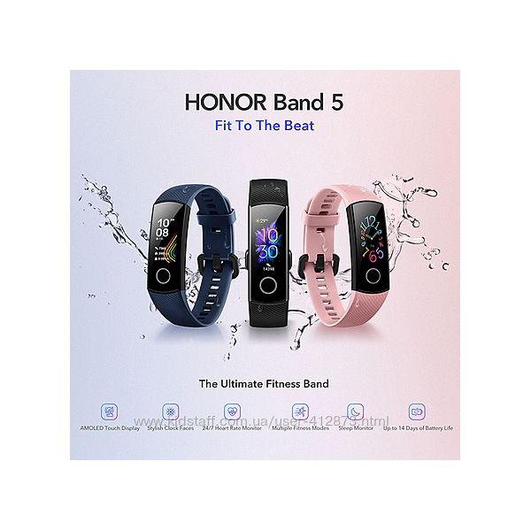 Фитнес браслет с пульсоксиметром Huawei Honor Band 5.