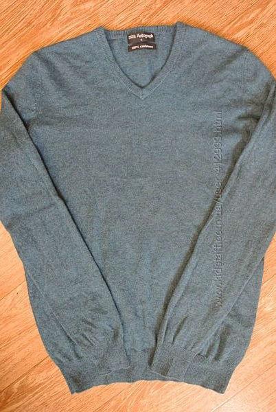 Кашемировый свитер Marks & Spencer, размер S