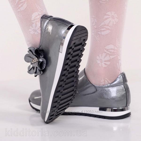 Школьные туфли на девочку в ассортименте Кожа