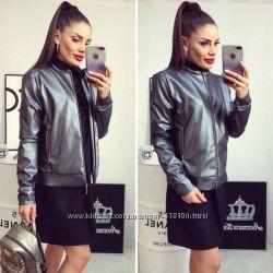 куртка серый металик 46-48 р