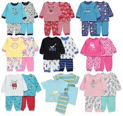 Очень красивые пижамы George для мальчиков и девочек Англия