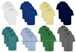 Тенниски, футболки-поло George, Matalan, F&F, TU, NutMeg Англия от 3х до 16