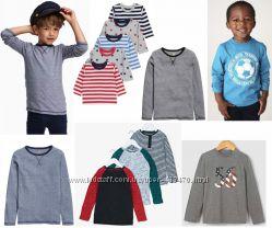 Модные фирменные регланы для мальчиков laredoute, Mothercare, F&F, Matalan