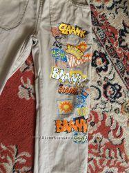 Глория джинс костюм пиджак курточка джинсы штаны на 4- 5-6 лет