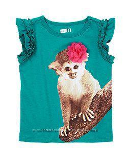 Красивенные футболки из тропической коллекции на 3 года
