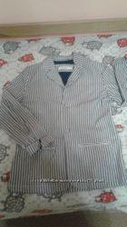 Легкий хлопковый пиджак от Манго рост 164