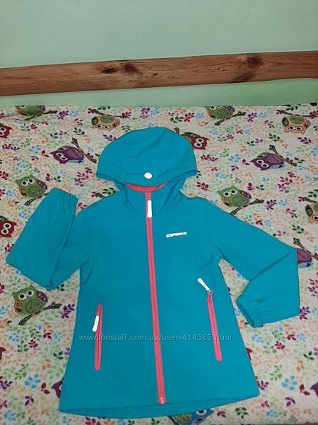 Куртка-софтшелл на 7-8 лет