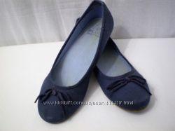 Удобные легкие джинсовые балетки blue motion