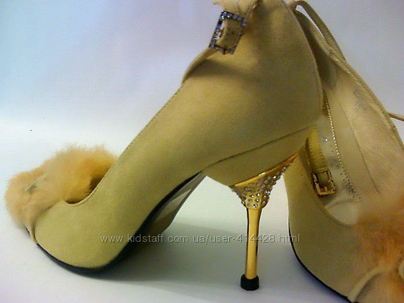 Шикарные  элегантные туфли для леди