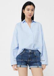 Стильные фирменные джинсовые шорты от Mango размер 34.