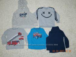 Регланы, толстовки для мальчишки H&M 2-4 года 86-98см. Оригинал.