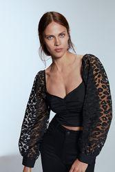 Стильная блузка, топ Zara размер S. Оригинал.