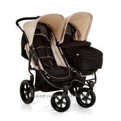 Самая удобная коляска для двойняшек, близнецов, погодок Hauk Roadster duo