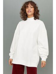 Новый свитшот, толстовка на флисе, оверсайз H&M. Размер М, L, XL