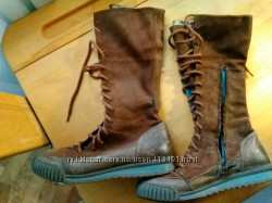 Ботинки деми на шнурках, размер 35.